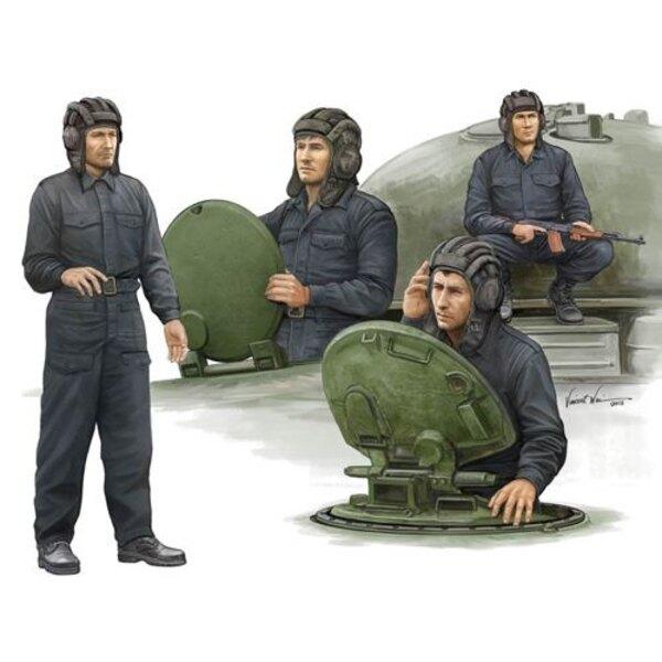 Moderne Crew réservoir soviétique