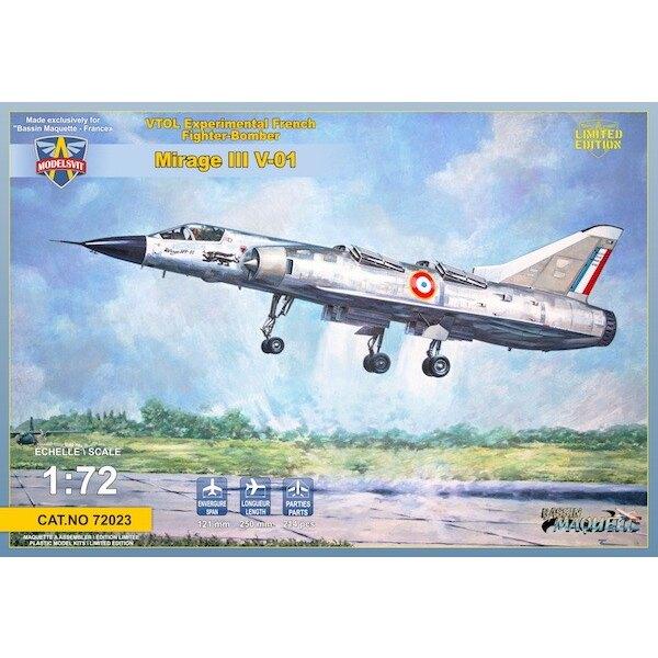 Dassault Mirage III V-01 VTOL Français