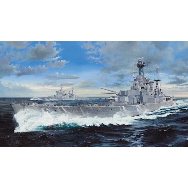 HMS Hood (an Upgrade Set is available separately see item TU06641)