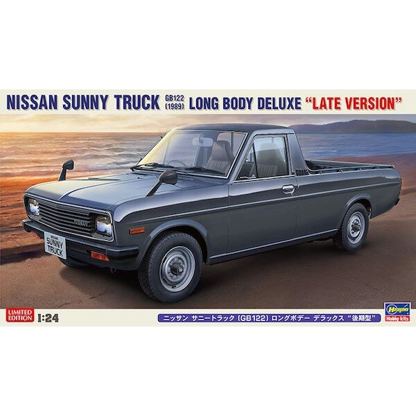 Nissan Sunny Truck (GB122) Long Body Deluxe (Version Late)