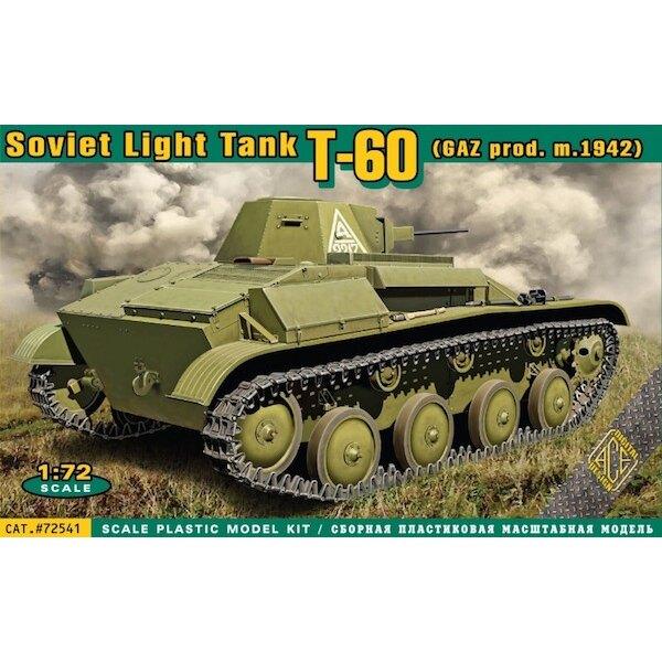 Russian T-60 light tank (GAZ prod., m.1942)