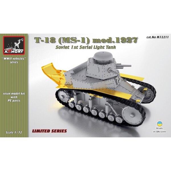 T-18 (MS-1) Soviet 1st Serial Light Tank