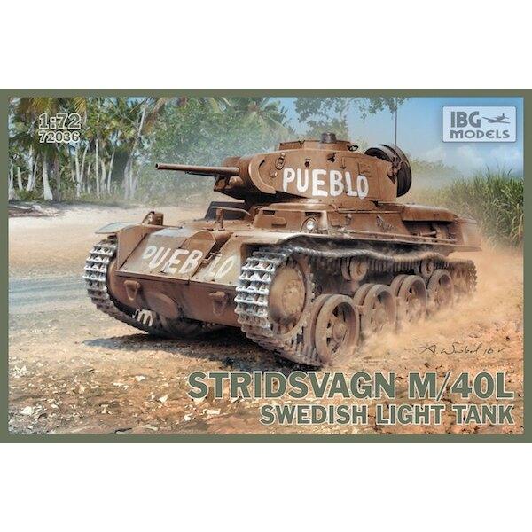 Stridsvagn M/40 L Swedish light tank