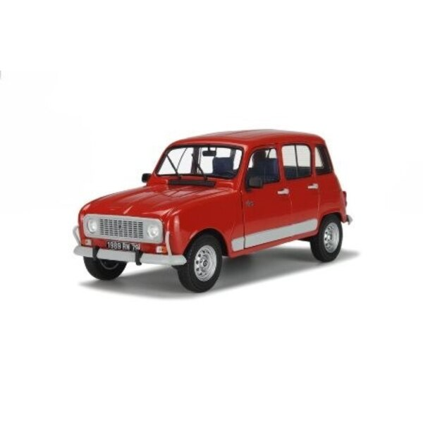 RENAULT 4 GTL CLAN 1978 ROUGE (REFABRICATION)
