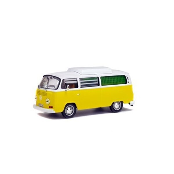 COMBI VW T2 1972 CAMPING YELLOW