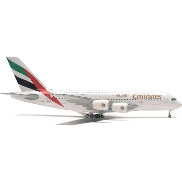 Emirates Airbus A380-800 A6-E0E (métal)