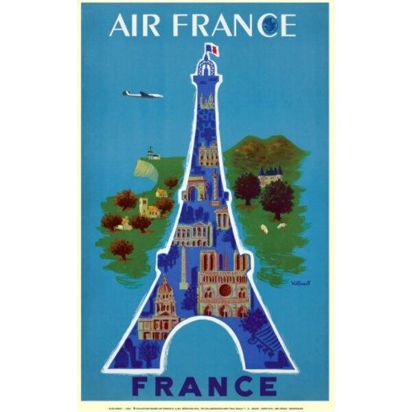 Air France - France - B.Villemot 1952