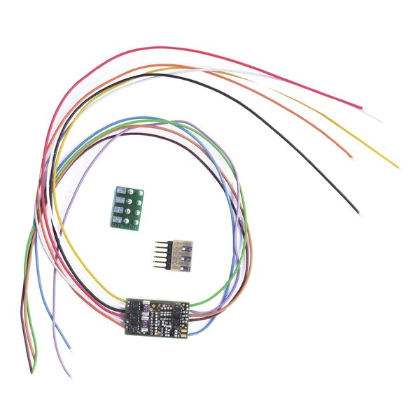 DCC-Decoder without plug.