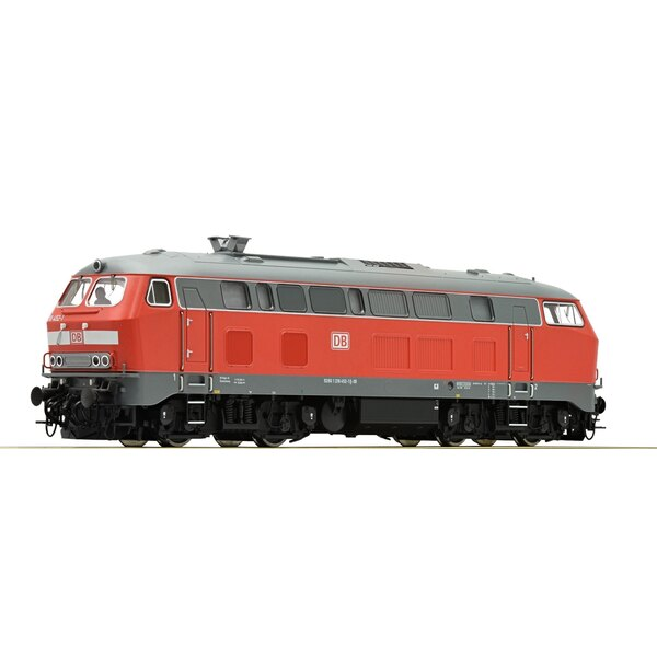 Diesel locomotive series 218, DB AG