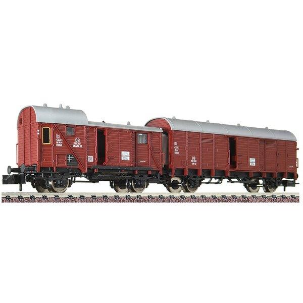 Leig wagon unit GIIh 12 / Gllvwhh 08, DB