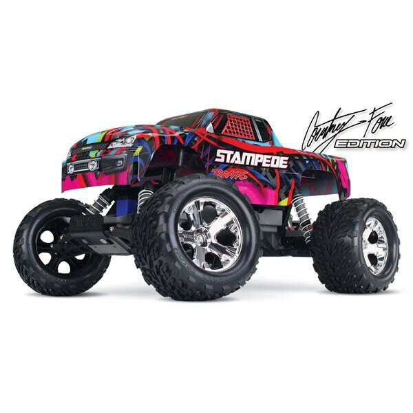 STAMPEDE COURTNEY - 4x2 - 1/10 BRUSHED TQ 2.4GHZ - iD
