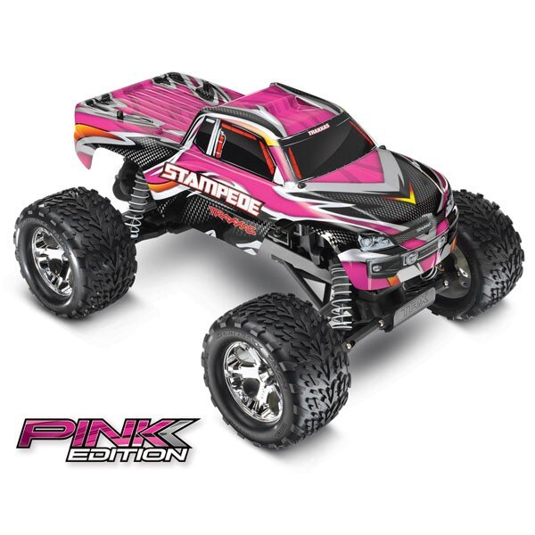 STAMPEDE PINK - 4x2 - 1/10 BRUSHED TQ 2.4GHZ - iD