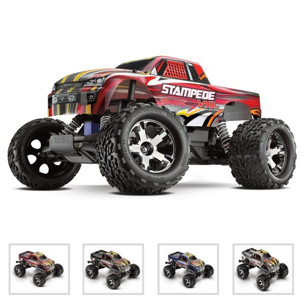 STAMPEDE - 4x2 - 1/10 VXL BRUSHLESS - WIRELESS