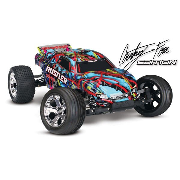 RUSTLER COURTNEY - 4x2 - 1/10 BRUSHED TQ 2.4GHZ - iD