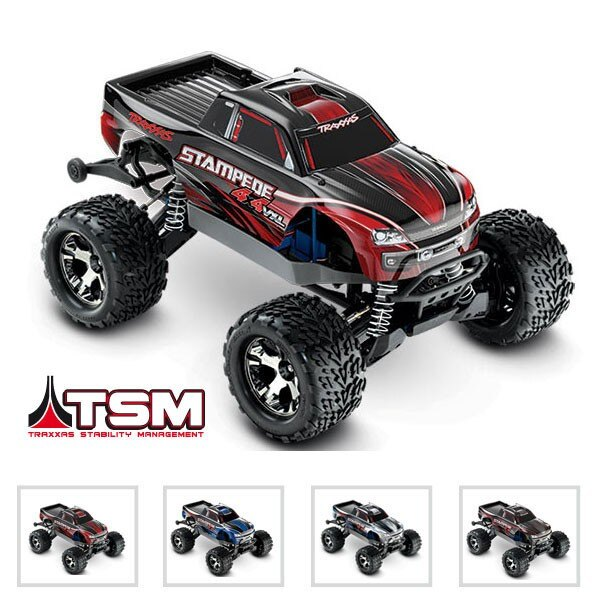 STAMPEDE 4x4 VXL - 1/10 BRUSHLESS -iD - TSM