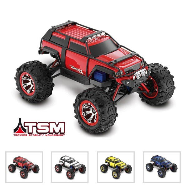 SUMMIT - 4x4 - 1/16 VXL BRUSHLESS TQ 2.4GHZ - iD - TSM