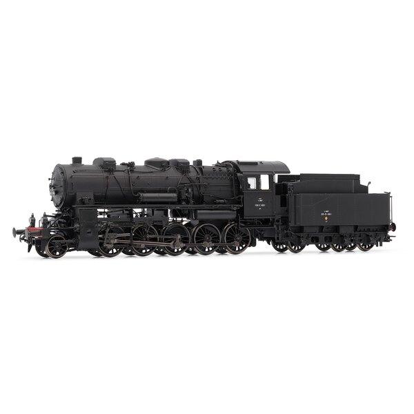 Locomotive à vapeur 150 C (ex AL), SNCF époque III, - dépôt de Longwy, DCC sonorisée