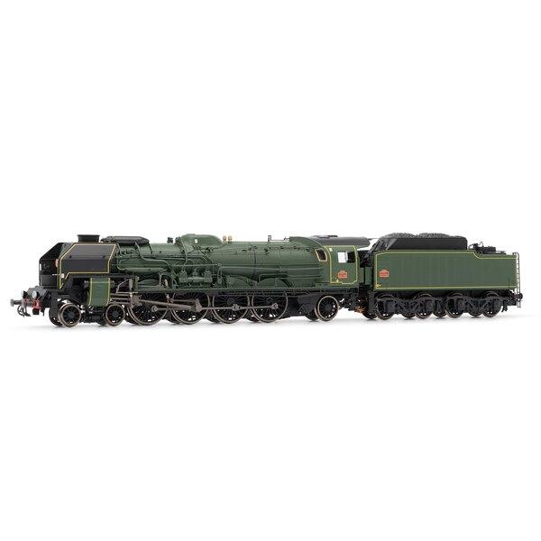 Locomotive à vapeur 241P tender 34 P, SNCF époque III - dépôt de la Chapelle, Digital sonorisée