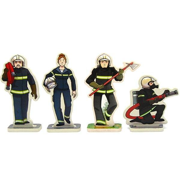 Baluchon au feu les pompiers!