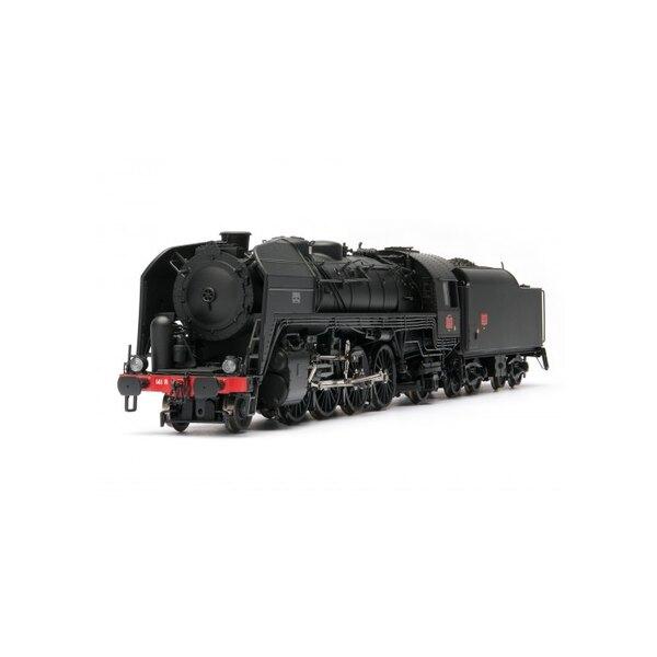 141 R 307 - tender charbon, dépôt de Nevers AC Digital