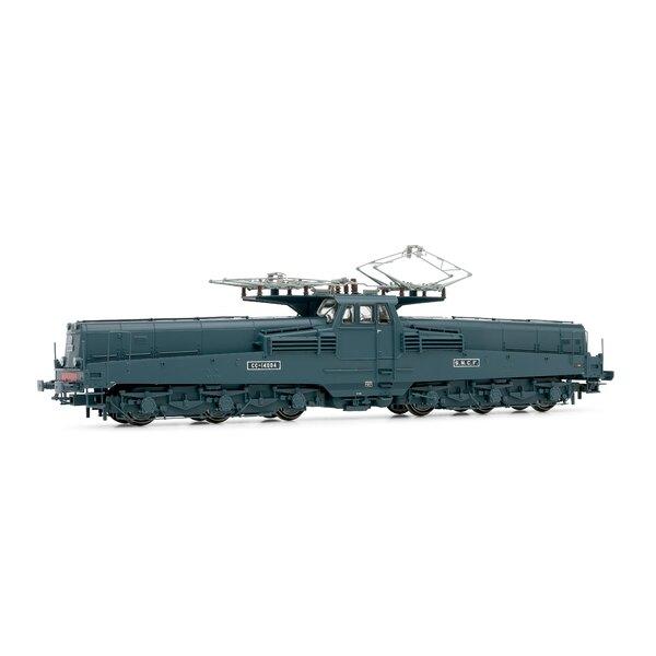 Locomotive électrique CC14014, livrée vert/jaune, époque III, Digital sonorisée