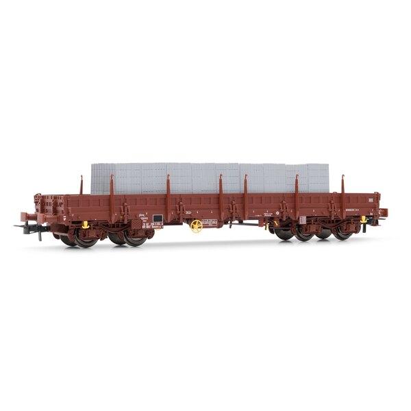 Wagon plat Remms avec chargement, époque V