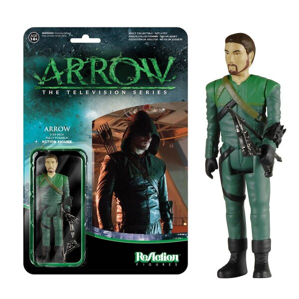 Arrow ReAction figurine Arrow (Unmasked) SDCC 2015 8 cm