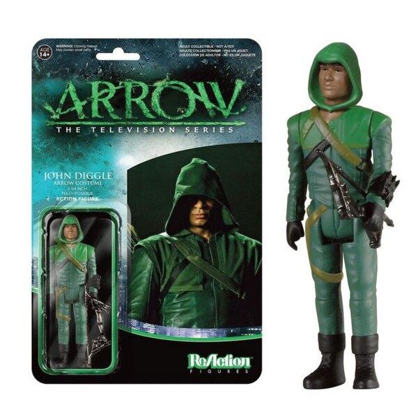 Arrow ReAction figurine John Diggle (Arrow Costume) 8 cm