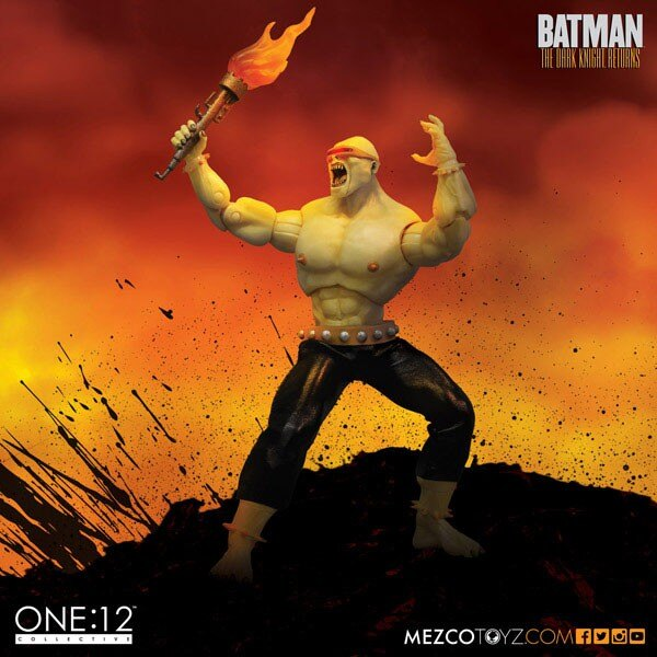 The Dark Knight Returns figurine 1/12 Mutant Leader 15 cm