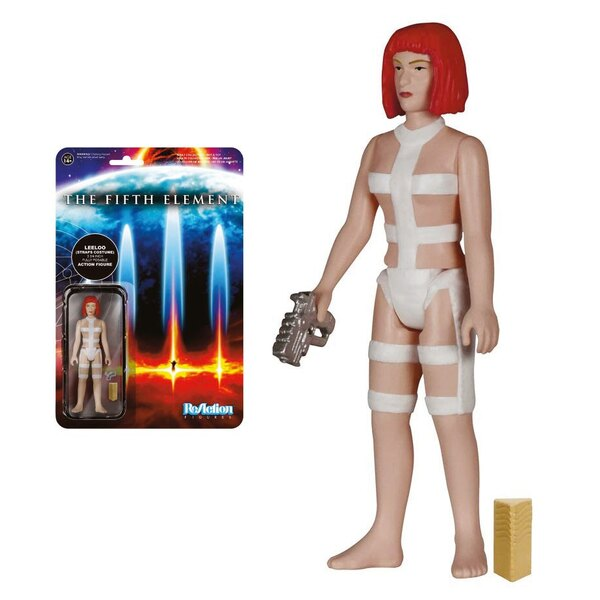 The Fifth Element ReAction figurine Leeloo Straps Costume 10 cm