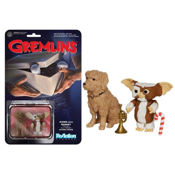 Gremlins ReAction figurine Gizmo & Barney 6 cm