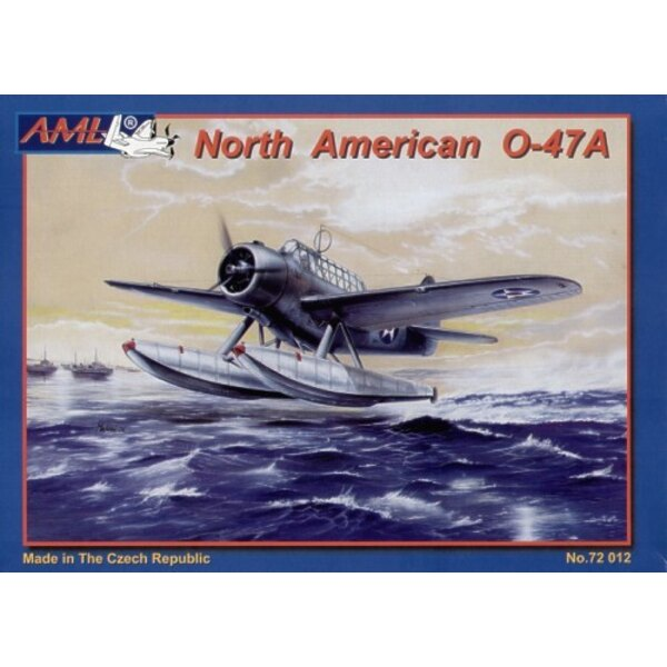 North American O-47A float plane