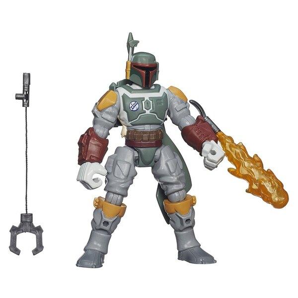 Star Wars Hero Mashers 2015 Wave 1 assortiment figurines Deluxe 15 cm (8)