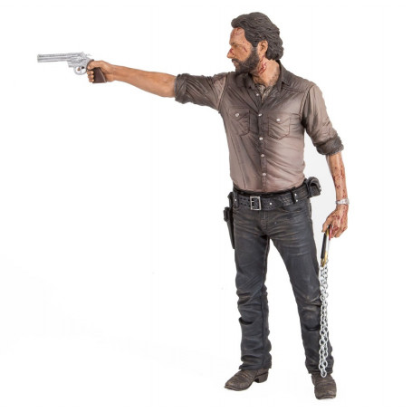 The Walking Dead figurine Deluxe Rick Grimes Vigilante Edition 25 cm