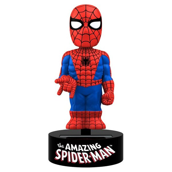 Marvel Comics Body Knocker Bobble Figure Spider-Man 15 cm