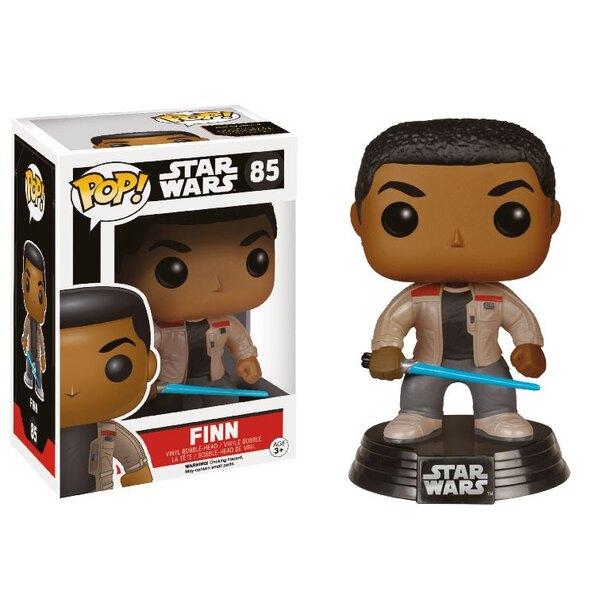 Star Wars Episode VII POP! Vinyl Bobble Head Finn with Lightsaber 9 cm