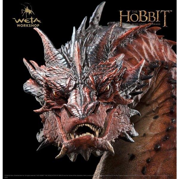 Le Hobbit La Désolation de Smaug buste Smaug 36 cm