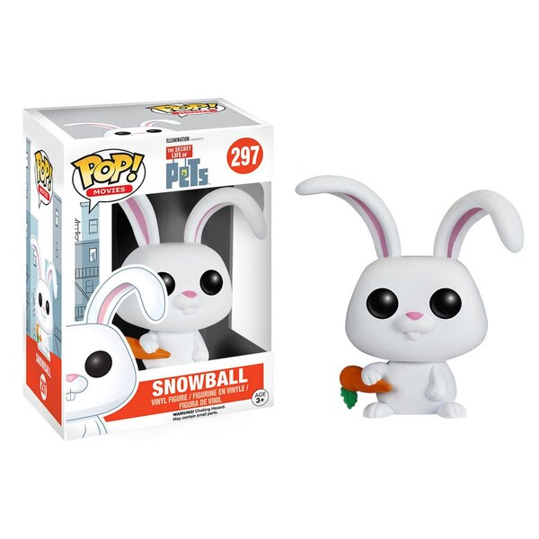 Comme des bêtes POP! Movies Vinyl figurine Snowball 8 cm
