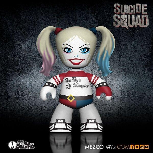 DC Universe set figurines Mini Mez-Itz Suicide Squad 5 cm
