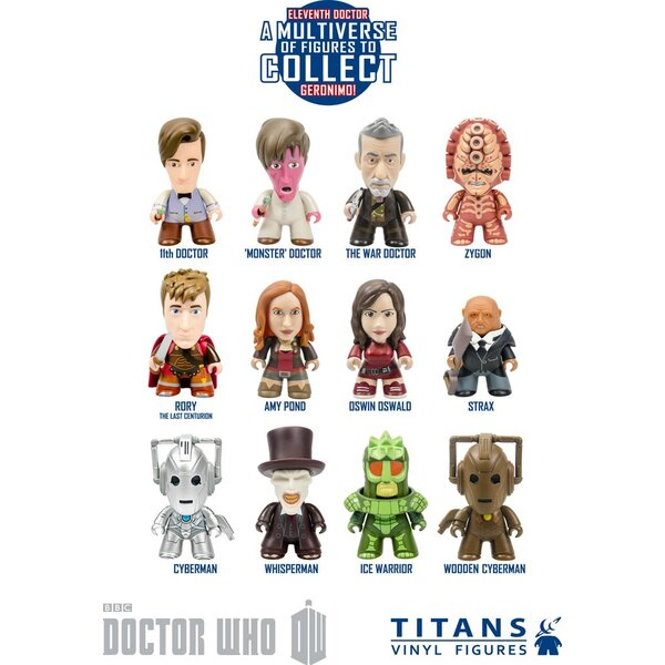 Doctor Who présentoir trading figures 11th Doctor Geronimo Collection Titans 8 cm (20)