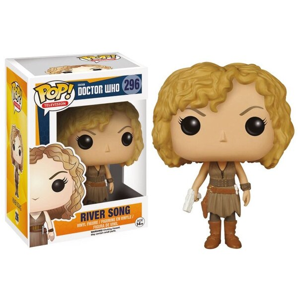 Doctor Who Figurine POP! Television Vinyl River Song 9 cm