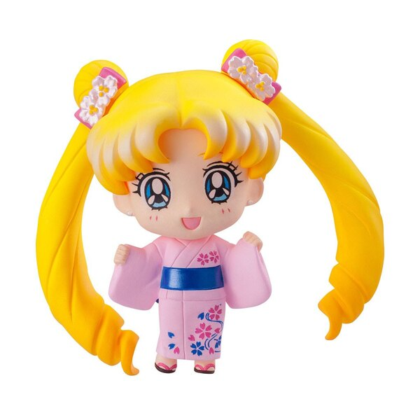 Sailor Moon Petit Chara pack 6 trading figures Let's go to festival 6 cm