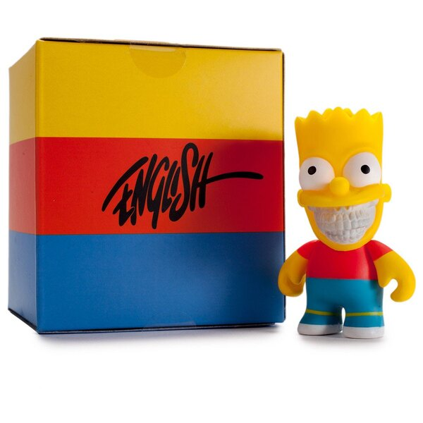 Simpsons figurine Bart Grin by Ron English 8 cm