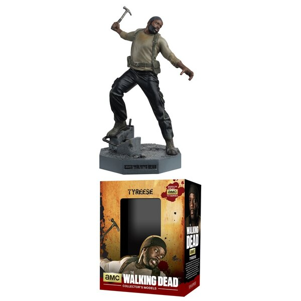 The Walking Dead figurine Collector´s Models #6 Tyreese Williams 9 cm