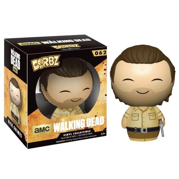 Walking Dead Vinyl Sugar Dorbz Vinyl figurine Rick Grimes 8 cm