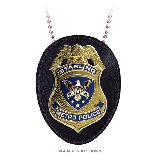Arrow réplique 1/1 Insigne de Police Starling City 9 cm