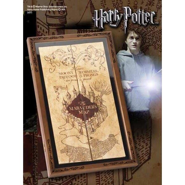 Harry Potter présentoir pour réplique Carte du Maraudeur
