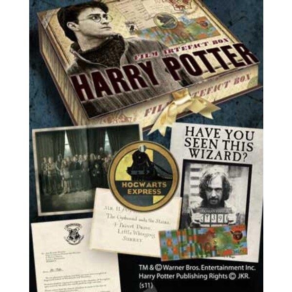 Harry Potter boite d´artefacts Harry Potter