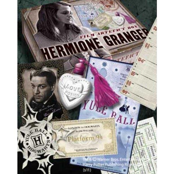 Harry Potter boite d´artefacts Hermione Granger