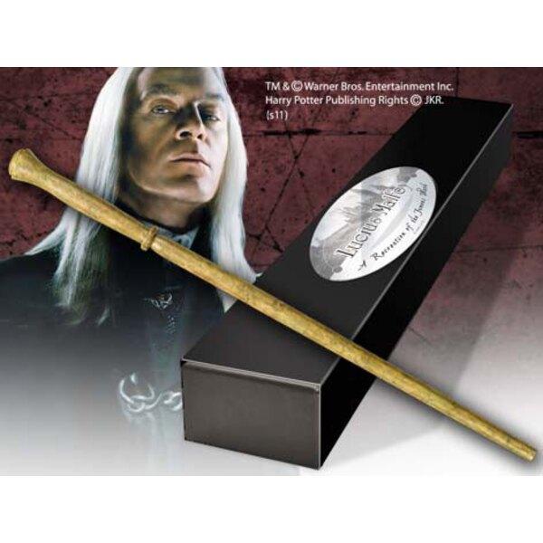 Harry Potter réplique baguette de Lucius Malfoy (édition personnage)